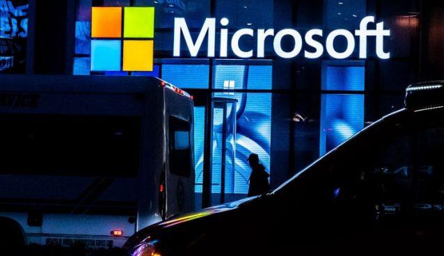 Microsoft sweeps first quarter